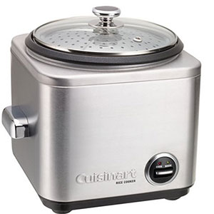 4. Cuisinart 4-Cup Rice Cooker (CRC-400)