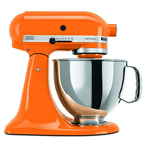 9. KitchenAid 5 Qt. Tangerine Artisan Series (RRK150TG- Certified Refurbished)