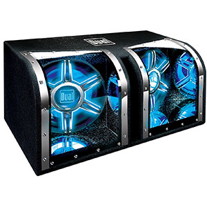 4. Dual Electronics 12 inch Enclosed Subwoofers (BP1204)