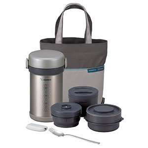 8. Zojirushi Stainless Steel Lunch Jar (SL-NCE09)
