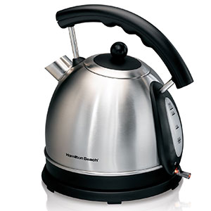 4. Hamilton Beach 40893 1.7L Electric Kettle