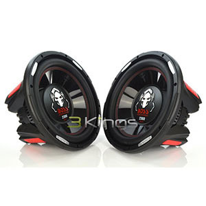 "9. BOSS P126DVC 12"" Car Subwoofers"