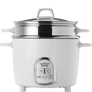 3. Aroma Housewares White Rice Cooker (14-Cup Cooked Rice)