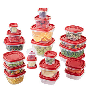 1. Rubbermaid 42-Piece Set Food Storage Container