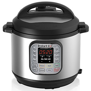 7. Instant Pot 6 Qt 7-in-1 Pressure Cooker