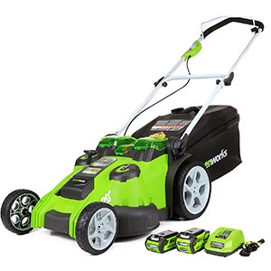 6. GreenWorks 20-inch Lawn Mower (25302)