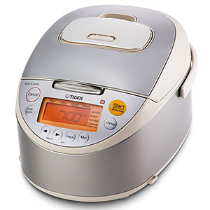 10. Tiger Corporation 5.5-Cup Rice Cooker (JKT-B10U)