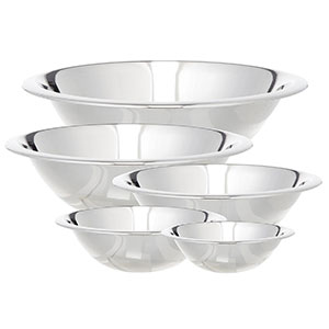 10. Cook Pro 5-Piece Mixing Bowl Set