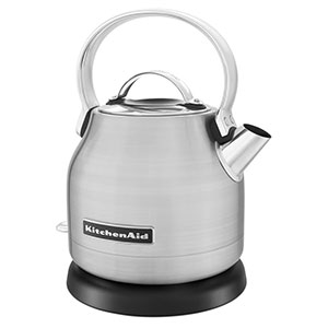 10. KitchenAid 1.25-Liter Electric Kettle (KEK1222SX)