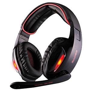 6. Sades Gaming Headset (SA902 7.1)