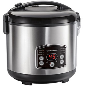 1. Hamilton Beach Rice Cooker (37548)