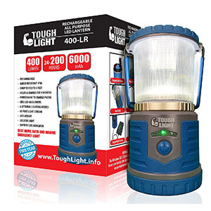 2. Tough Light Rechargeable Camping Lantern