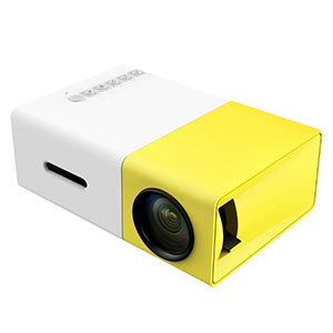 4. Deeplee Portable LED Projector (DP300)