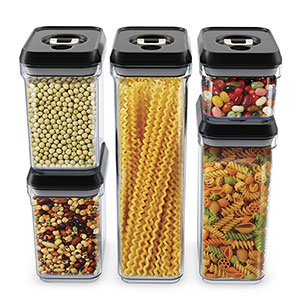 2. Royal 5-Piece Food Storage Container Set