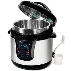 6. Maximatic Electric Pressure Cooker (EPC-808SS)