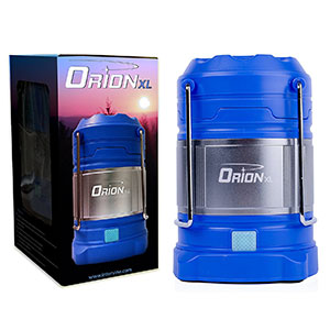 1. Supernova Orion Rechargeable Camping Lantern