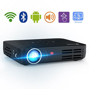 10. WOWOTO LED Portable Projector