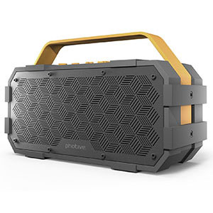 6. Photive M90 Waterproof Bluetooth Speaker