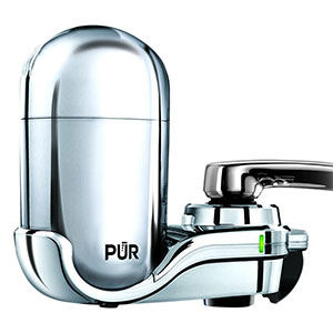 2. PUR 3-Stage Water Filter Faucet