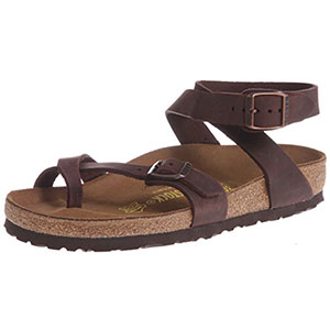 1. BIRKENSTOCK Women's Yara Leather