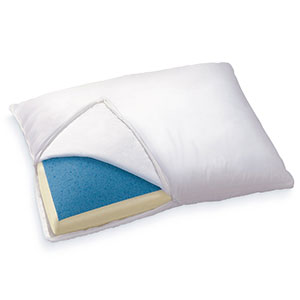 7. Sleep Innovations Reversible Memory Foam Pillow