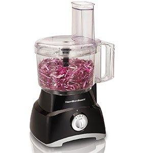 1. Hamilton Beach Black Food Processor (70740)