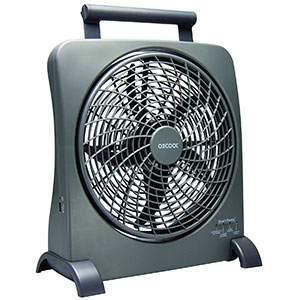 4. O2COOL 10-Inch Portable Fan