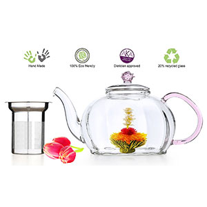 10. Tea Beyond 50 oz Lead Free Glass