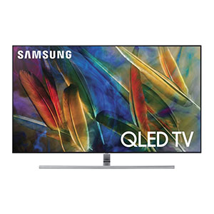 9. Samsung 2017 Model 55-Inch 4K Smart QLED TV (QN55Q7F)