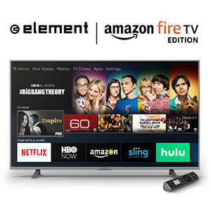 5. Element Fire TV Edition 50-Inch 4K Smart LED TV