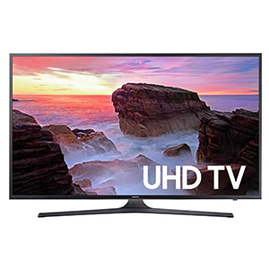 2. Samsung 2017 Model 40-Inch 4K Smart LED TV (UN40MU6300)
