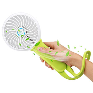 5. Ashbringer Mini Handheld Portable Rechargeable Fan