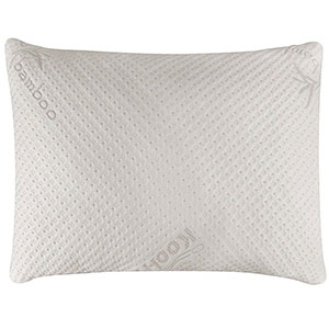 9. Snuggle-Pedic Ultra-Luxury Memory Foam Pillow