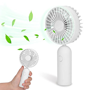 6. Avantree FAN01 Mini Rechargeable Fan