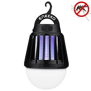 7. Enkeeo 2-in-1 Mosquito Killer