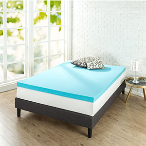 9. Zinus Full 3 inch Mattress Topper