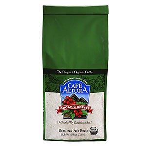 10. Cafe Altura Sumatran Organic Coffee