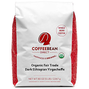 6. Coffee Bean Direct Ethiopian Yirgacheffe