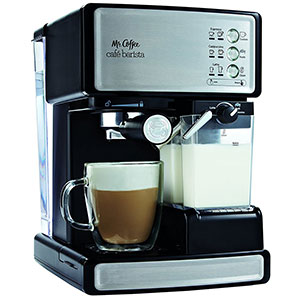1. Mr. Coffee BVMC-ECMP1000-RB Café Barista