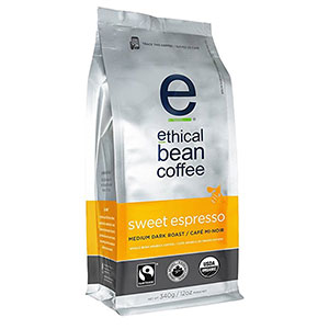 7. Ethical Bean Coffee Sweet Espresso