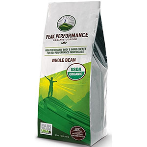 4. Peak Performance High Altitude Organic Coffee