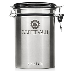 10. Zurich Large Stainless Steel Coffee Container