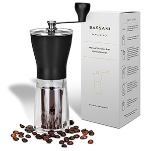 5. Bassani Home Coffee Grinder
