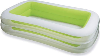 2. Intex 103x69x22'' Inflatable Swimming Pool