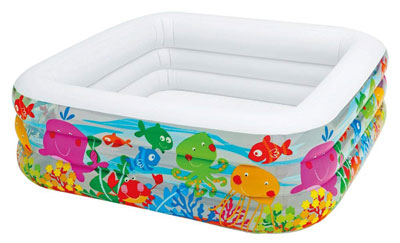 3. Intex Clearview Ages 3+ Swim Center Aquarium