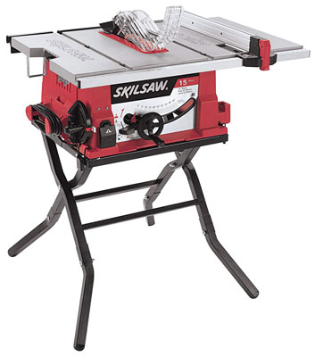 6. Skil 2410-02 Folding Stand 10-Inch Table Saw