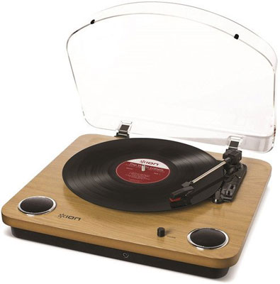 4. ION Audio Three Speed Vinyl Conversion Turntable