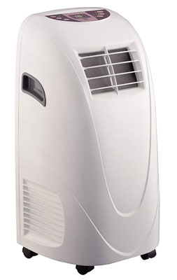 5. Global Air 10,000 BTU Portable Air Conditioner Cooling/Fan