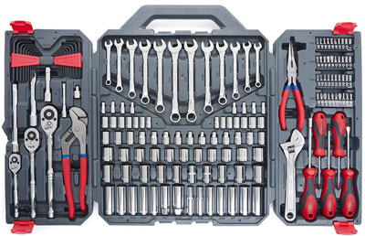 5. Apex Tool Group Crescent CTK170CMP2 Mechanics Tool Set (170-Piece)