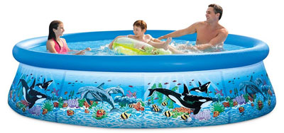 5. Intex 28125EH Ocean Reef Pool Set
